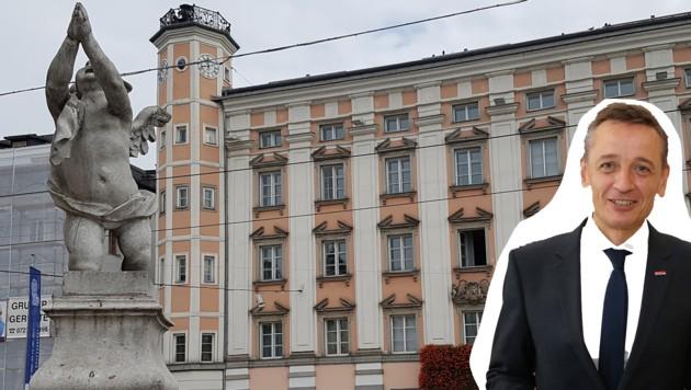 Wilfried Lehner, Bundeschef der Finanzpolizei: Mit ihm ist Anzeige gegen das â01ERathausâ01C abgestimmt. (Bild: Werner Pöchinger, zwefo)