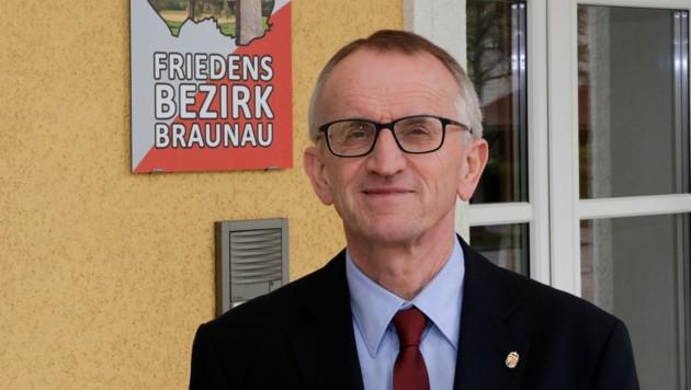 Der Braunauer Bezirkshauptmann Georg Wojak (Bild: Pressefoto Scharinger © Daniel Scharinger)