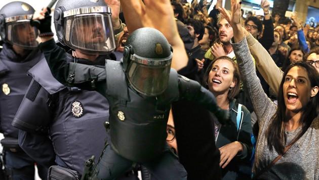 (Bild: AFP, AP, krone.at-Grafik)