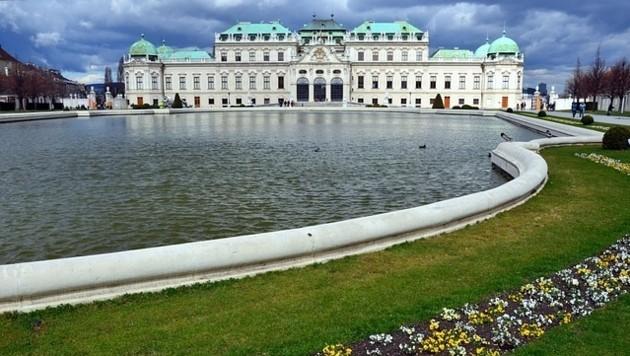 Das Museum Belvedere 21 befindet sich nahe dem Schloss Belvedere. (Bild: Pixabay © AJJ74)
