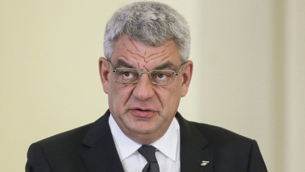 Rumäniens Regierungschef Mihai Tudose (Bild: AFP)