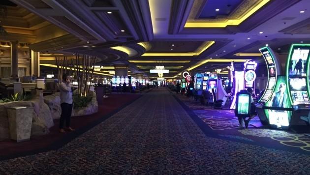 Das Casino im Mandalay Bay (Bild: Charlotte Sequard-Base)