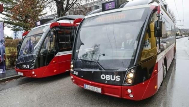 Neu für Wochenenddienste angemeldet: die O-Bus-Linie 9 (Bild: Markus Tschepp)