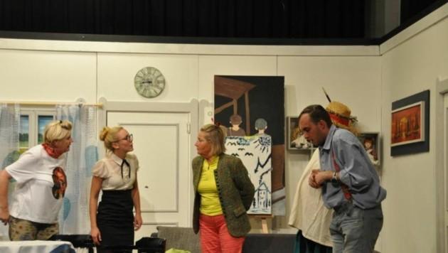 Für allerhand Verwirrung ist gesorgt: Theaterfans landen direkt in der Psychiatrie (Bild: Theatergruppe Mühlbach)