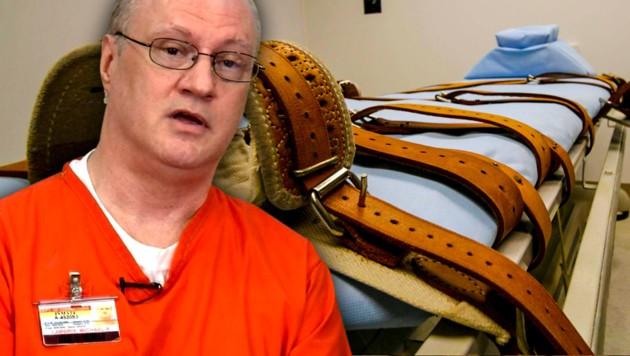 Michael Lambrix wurde wegen zweifachen Mordes verurteilt und nun in Florida hingerichtet. (Bild: twitter.com, krone.at-Grafik)