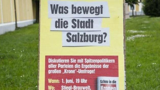"""Diskussion im Juni """"Was bewet die Stadt Salzburg?"""" (Bild: Markus Tschepp)"""