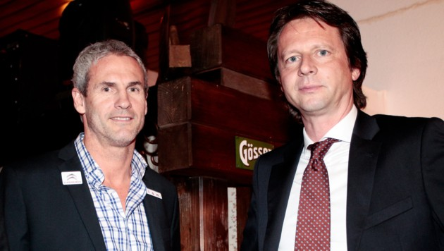 Michael Konsel und Peter Schöttel (Bild: GEPA)