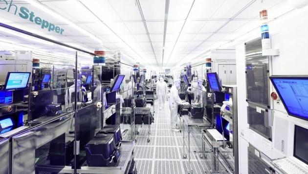 Die Mikroelektronik gilt als eines der Wirtschafts-Zugpferde (Bild: Infineon)