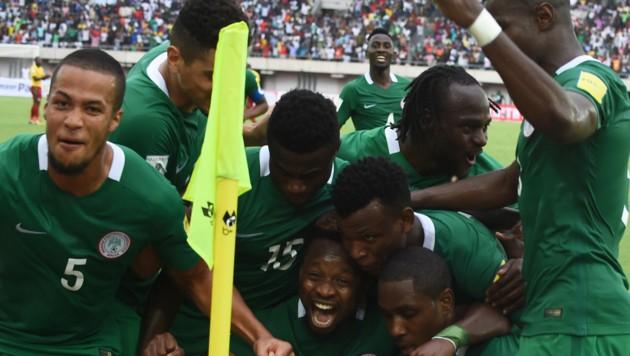 Für Nigeria ist es die sechste WM-Teilnahme der Verbandsgeschichte. (Bild: AFP)