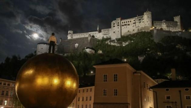 Top-Hit der Langen Nacht war die Festung Hohensalzburg (Bild: Franz Neumayr)
