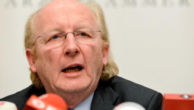 Ärztekammerpräsident Wechselberger (Bild: APA/HERBERT NEUBAUER)