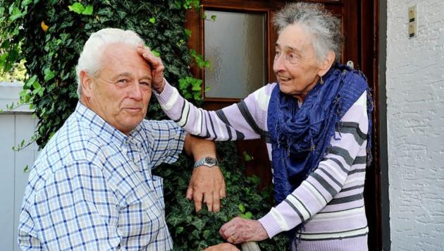 Ilona mit Lebensretter und Cousin Werner