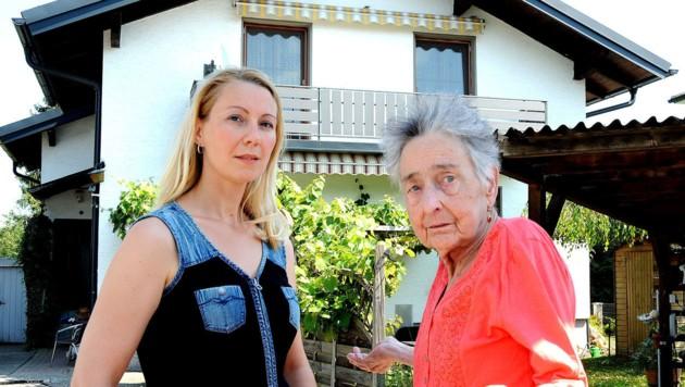 Brigitte Quint mit Ilona
