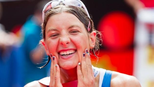 Eva Wutti gab nach persönlicher Halbmarathon-Bestzeit auf. (Bild: APA/EXPA/ JFK)