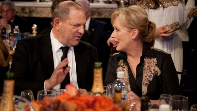 Harvey Weinstein und Meryl Streep (Bild: Hollywood Picture Press/face to)