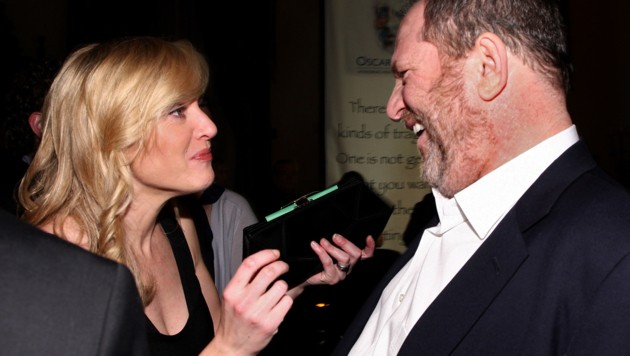 Kate Winslet mit Harvey Weinstein (Bild: 2009 Getty Images)