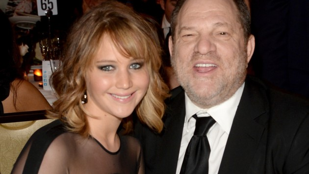 Jennifer Lawrence und Harvey Weinstein (Bild: 2013 Getty Images)