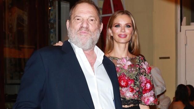 Harvey Weinstein und Ehefrau Georgina Chapman (Bild: www.PPS.at)