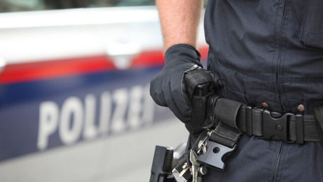 Polizisten stoppten den Geisterfahrer (Bild: unbekannt)