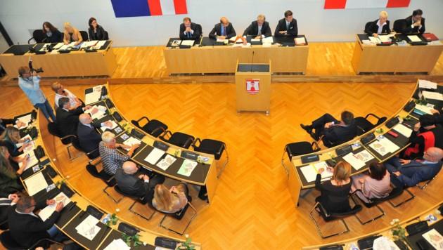 Beim Linzer Gemeinderat gab´s Tumult (Bild: Horst Einöder)