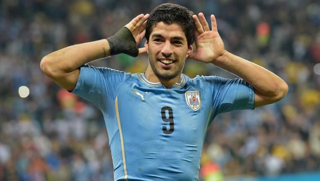 Luis Suarez (Bild: AFP)
