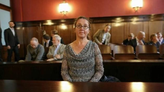 Im Wiener Justizpalast: Monika Rathgeber legte erfolglos Nichtigkeitsbeschwerde ein. (Bild: Gerhard Bartel)