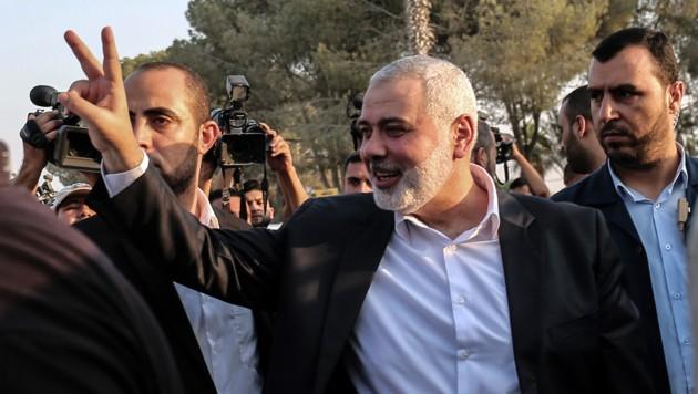 Hamas-Chef Ismail Haniye (Bild: AFP)