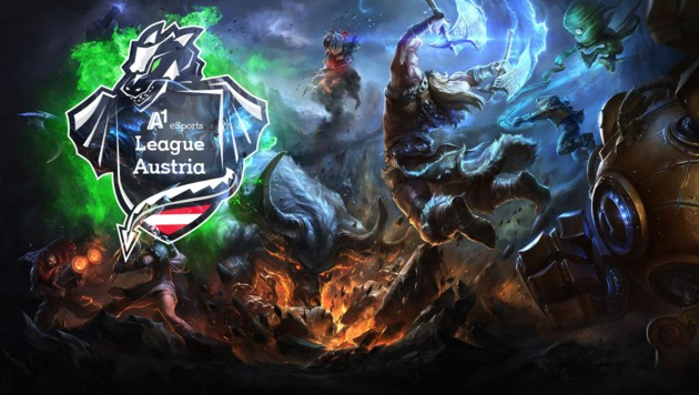 (Bild: A1, leagueoflegends.com, krone.at-Grafik)
