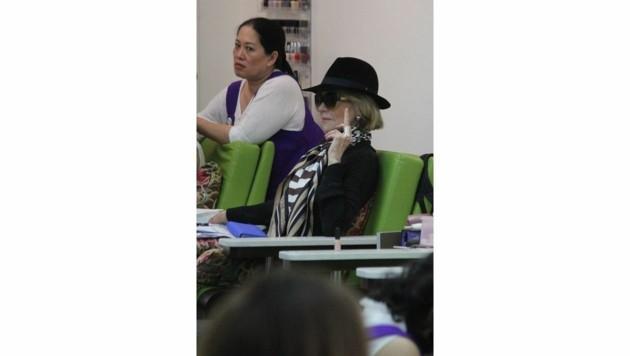 Auch eine Lady wie Jane Fonda kann einmal anders. (Bild: www.PPS.at)