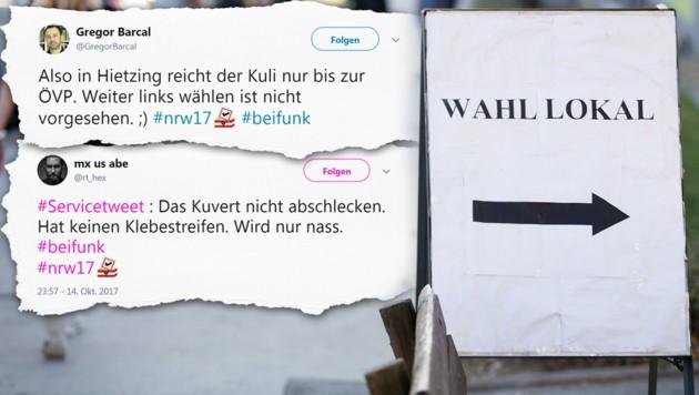 (Bild: APA/GEORG HOCHMUTH, twitter.com, krone.at-Grafik)