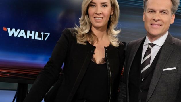 Nadja Bernhard, Tarek Leitner (Bild: ORF)
