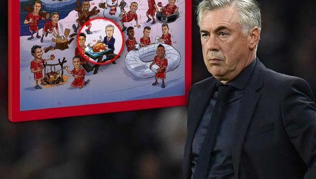 (Bild: FC Bayern, AFP, krone.at-grafik)