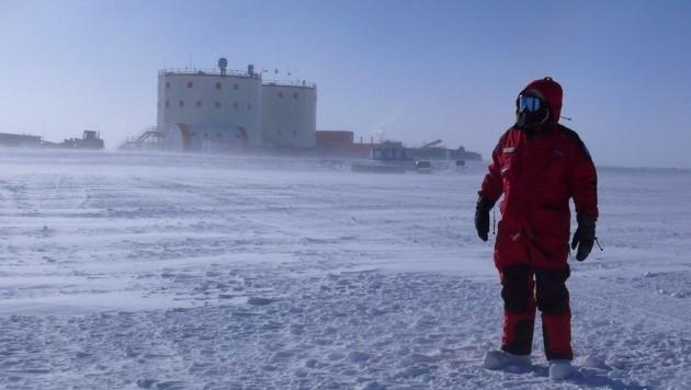 Eiseskälte bis zu minus 80 Grad warten auf die Crew um Carmen Possnig. (Bild: Busettini)