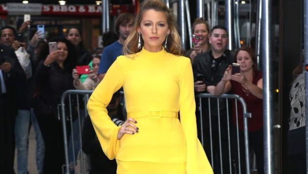 Blake Lively tauschte an einem Tag gleich sieben Mal ihr Outfit! (Bild: www.PPS.at)