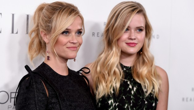 Reese Witherspoon mit Tochter Ava Phillippe (Bild: 2017 Invision)