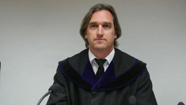 Richter Günther Nocker sprach das Urteil aus: Zwei Jahre teilbedingte Haft. (Bild: Neumayr)