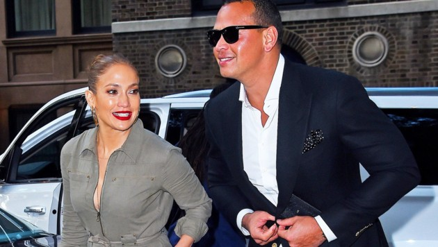 Jennifer Lopez und Alex Rodriguez (Bild: www.photopress.at)