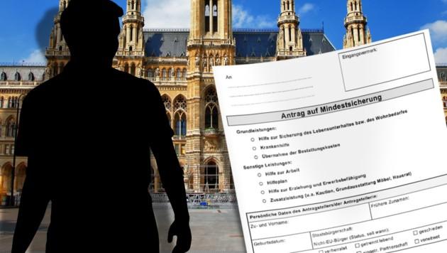 Tschetschene kassierte 70.000 € Mindestsicherung