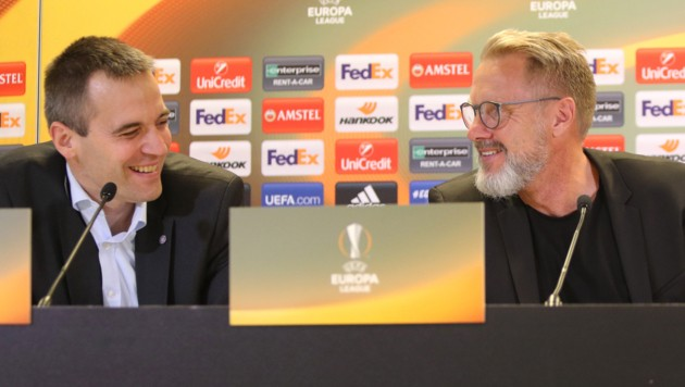 Markus Kraetschmer und Thorsten Fink (Bild: GEPA)