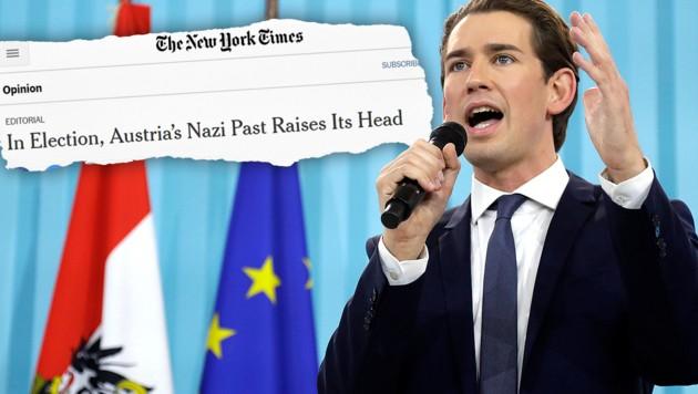 (Bild: AP, New York Times, krone.at-Grafik)