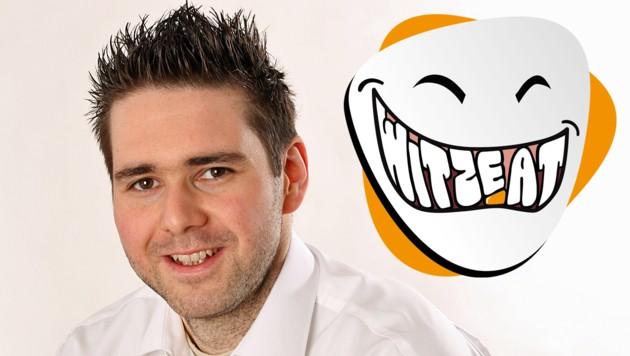 Clemes Danter steht hinter der größten Witze-Website Österreichs. (Bild: Privat, Clemens Danter)