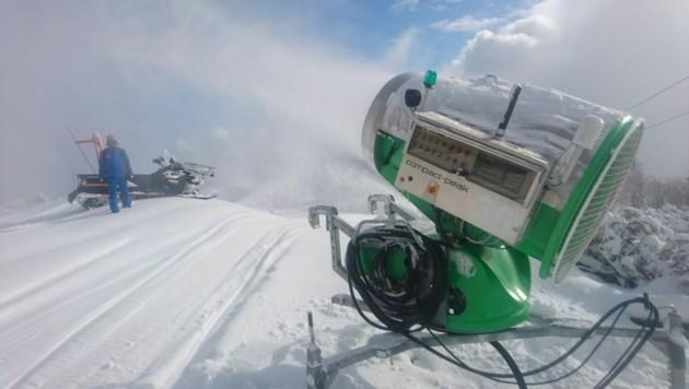 Wenn es im November kalt wird, sorgen die vielen Beschneiungsanlagen für die weiße Pracht. (Bild: OÖ Seilbahnholding)