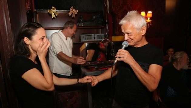 Boris Bukowski bat seine Tereza um ihre Hand. (Bild: Starpix/ Alexander TUMA)