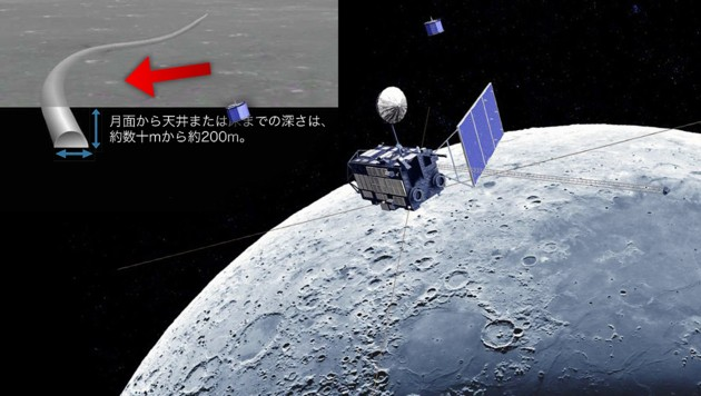 (Bild: AFP/JAXA, krone.at-Grafik)