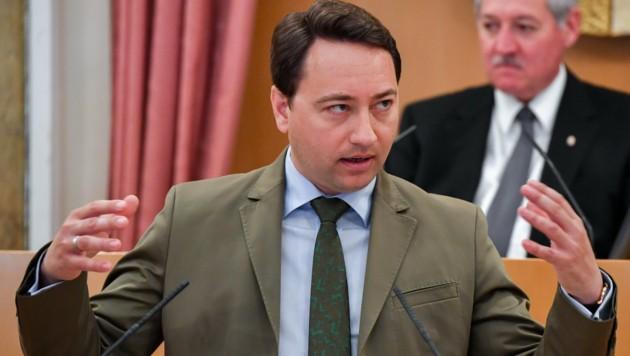 FPÖ-Chef Manfred Haimbuchner ist LH-Vize und Wohnbaureferent in Oberösterreich. (Bild: © Harald Dostal / 2017)