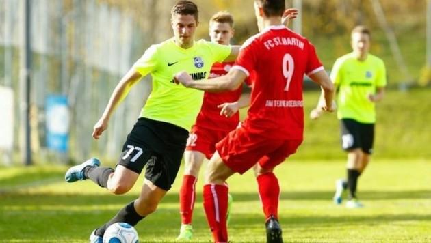 Marco Schlick (Zederhaus, li.) & Christoph Diegruber (St. Martin/T.) lieferten sich tolles Match. (Bild: Gerhard Schiel)