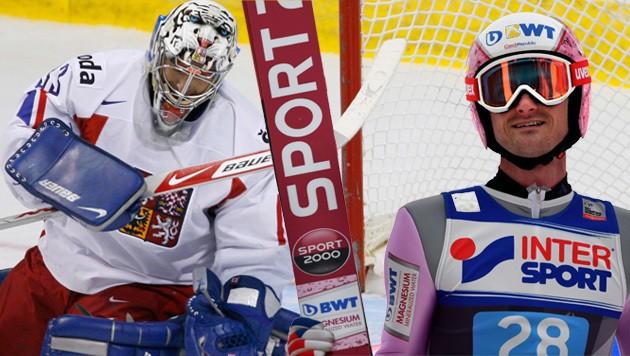 Milan Hnilicka und Jakub Janda (Bild: GEPA, AFP)