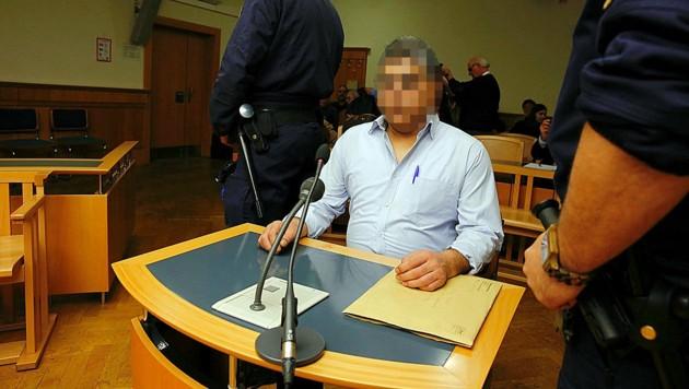 Der Angeklagte wurde wegen Totschlags zu fünf Jahren Haft verurteilt. (Bild: Martin A. Jöchl)
