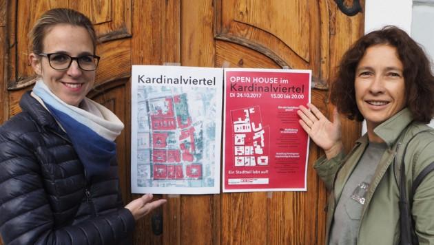 Die Viertelagentur lädt am 24.10.2017 zum OPEN HOUSE ins Kardinalviertel. (Bild: Viertelagentur)