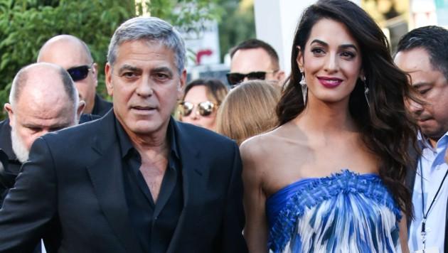 George und Amal Clooney (Bild: www.PPS.at)